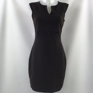 Susana Monaco Brown Sleeveless Dress Size Large